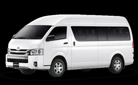 ให้บริการรถตู้เช่า พร้อมคนขับ กับ GFIN THAILAND
